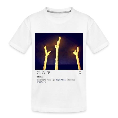TREE LIGHT - Toddler Premium Organic T-Shirt