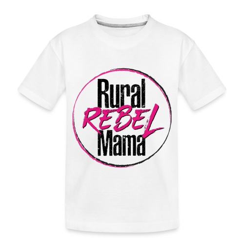 Rural Rebel Mama Logo - Toddler Premium Organic T-Shirt