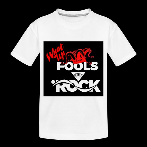 Fool design - Toddler Premium Organic T-Shirt