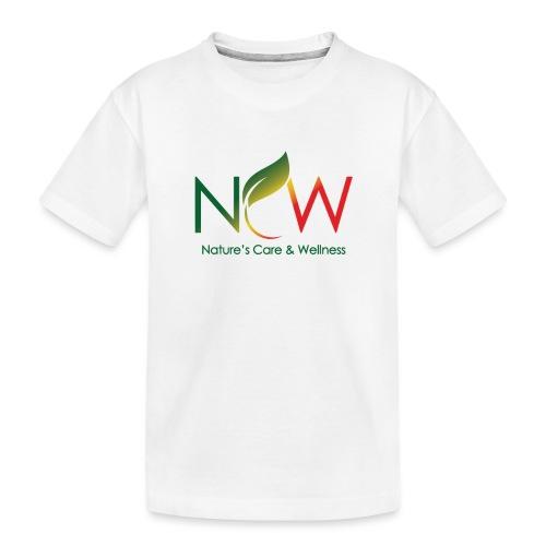 Ncw Big Logo - Toddler Premium Organic T-Shirt