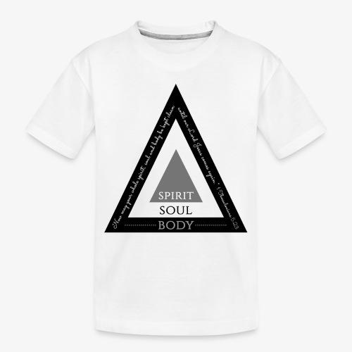 Spirit Soul Body - Toddler Premium Organic T-Shirt