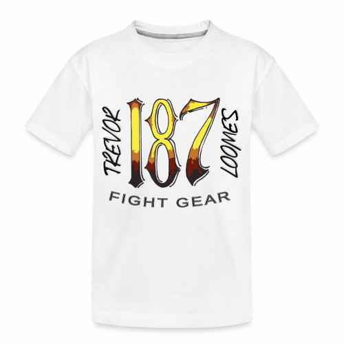 Coloured Trevor Loomes 187 Fight Gear Logo - Toddler Premium Organic T-Shirt