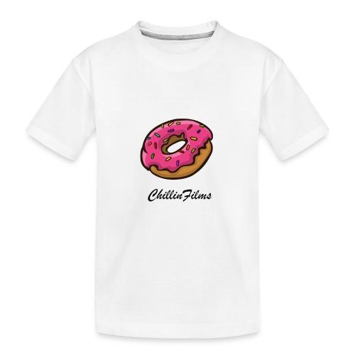 CF doughnut black writing - Toddler Premium Organic T-Shirt