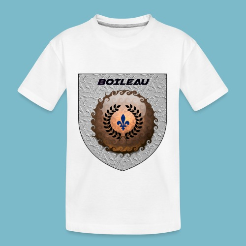 BOILEAU 1 - Toddler Premium Organic T-Shirt