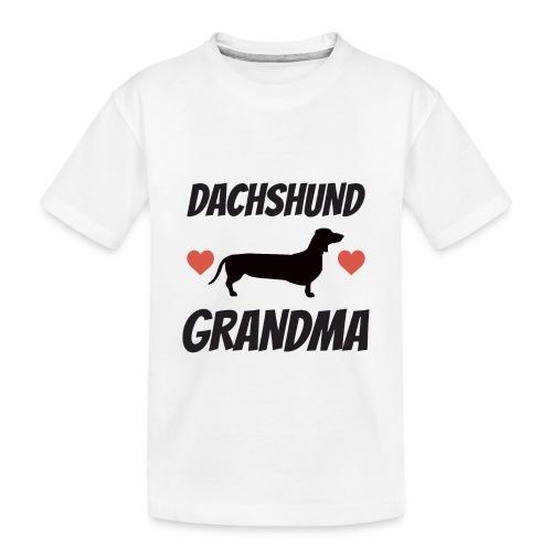 Dachshund Grandma - Toddler Premium Organic T-Shirt