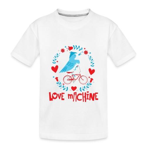 Cute Love Machine Bird - Toddler Premium Organic T-Shirt