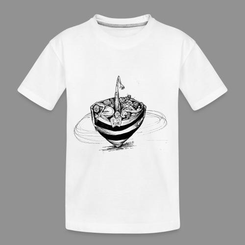 Wolfman Originals Black & White 15 - Toddler Premium Organic T-Shirt