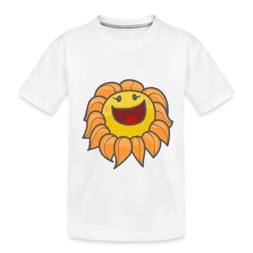 Happy sunflower - Toddler Premium Organic T-Shirt