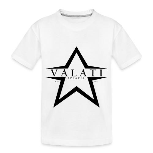 V-STAR Black - Toddler Premium Organic T-Shirt