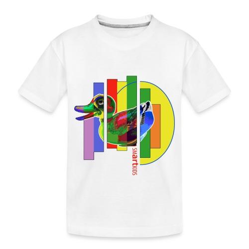 smARTkids - Gutsy Duck - Toddler Premium Organic T-Shirt