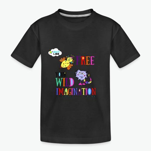 LOLAS LAB FREE YOUR WILD IMAGINATION TEE - Toddler Premium Organic T-Shirt
