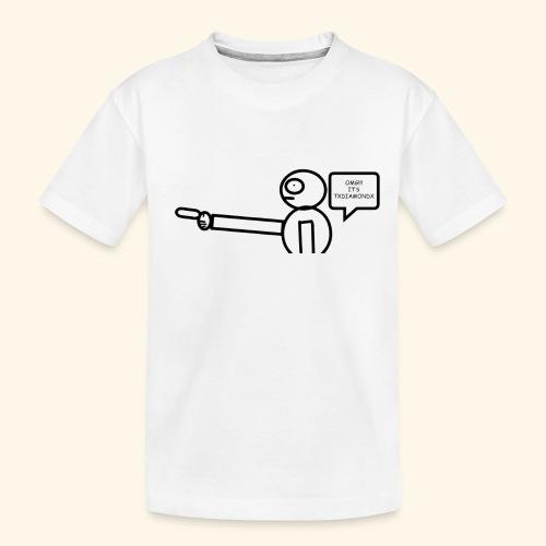 OMG its txdiamondx - Toddler Premium Organic T-Shirt
