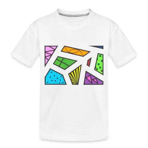 geometric artwork 1 - Toddler Premium Organic T-Shirt