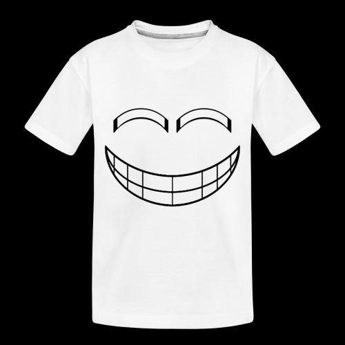 Empty Grin - Toddler Premium Organic T-Shirt