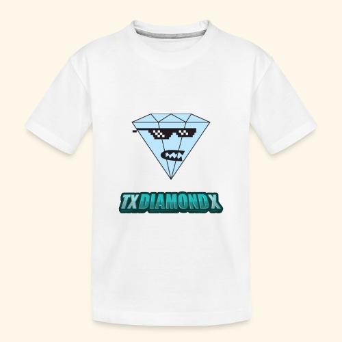 Txdiamondx Diamond Guy Logo - Toddler Premium Organic T-Shirt