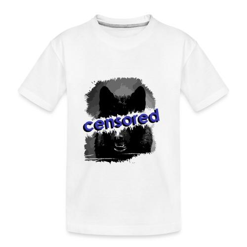 Wolf censored - Toddler Premium Organic T-Shirt