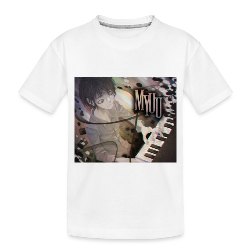 Dark Piano 1 - Toddler Premium Organic T-Shirt