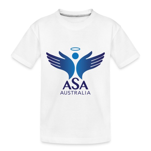 3459 Angelman Logo AUSTRALIA FA CMYK - Toddler Premium Organic T-Shirt