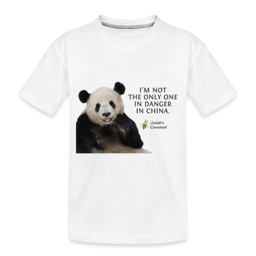 Endangered Pandas - Toddler Premium Organic T-Shirt
