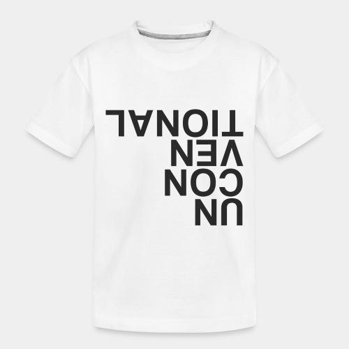 unconventional - Toddler Premium Organic T-Shirt