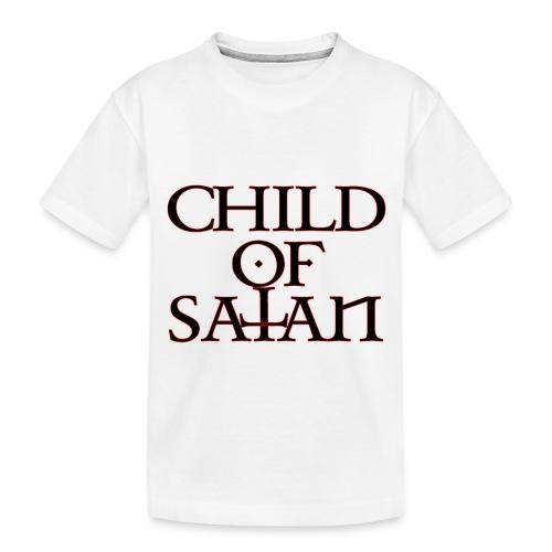 Child Of Satan - Toddler Premium Organic T-Shirt