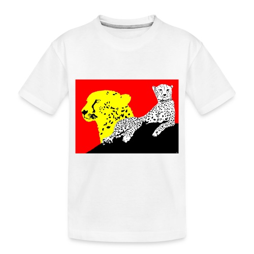 CHEETAH - Toddler Premium Organic T-Shirt