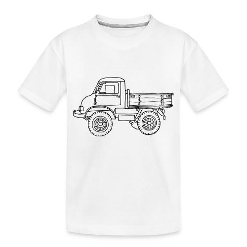 Off-road truck, transporter - Toddler Premium Organic T-Shirt