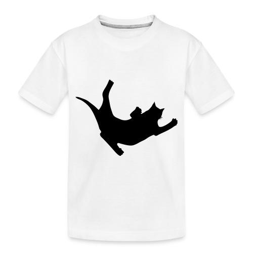 Fly Cat - Toddler Premium Organic T-Shirt