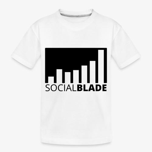 SB Blackout Logo - Toddler Premium Organic T-Shirt