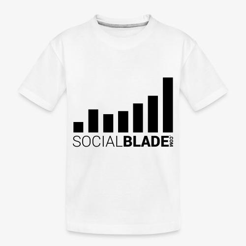 Socialblade (Dark) - Toddler Premium Organic T-Shirt