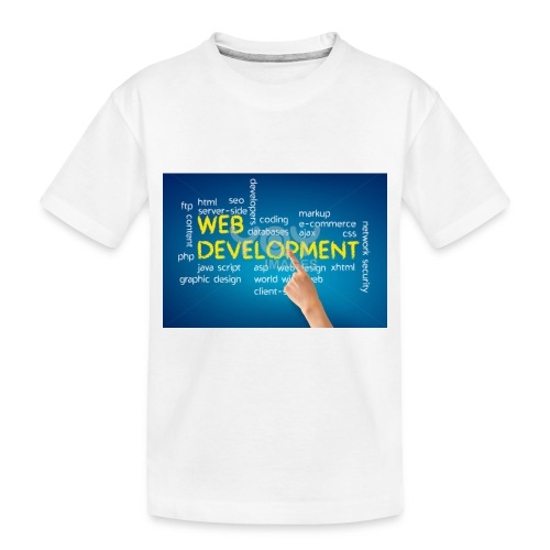 web development design - Toddler Premium Organic T-Shirt