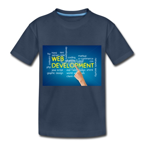web development design - Toddler Premium Organic T-Shirt