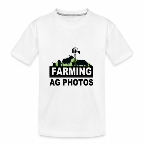 Farming Ag Photos - Toddler Premium Organic T-Shirt