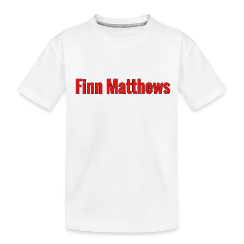 FM Logo - Toddler Premium Organic T-Shirt