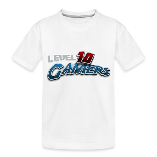 Level10Gamers Logo - Toddler Premium Organic T-Shirt