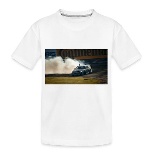 nissan skyline gtr drift r34 96268 1280x720 - Toddler Premium Organic T-Shirt