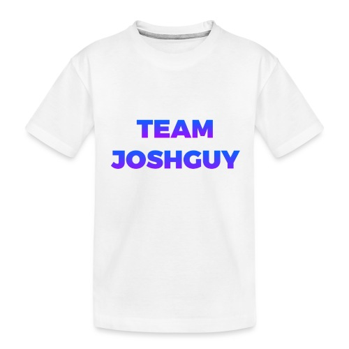 Team JoshGuy - Toddler Premium Organic T-Shirt