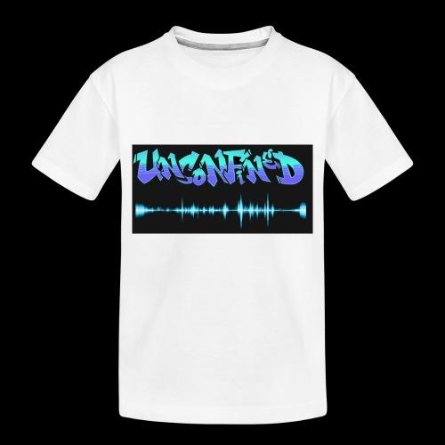 unconfined design1 - Toddler Premium Organic T-Shirt