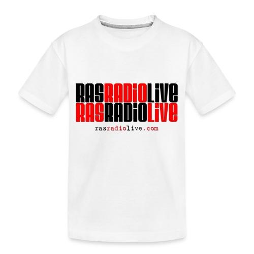 rasradiolive png - Toddler Premium Organic T-Shirt