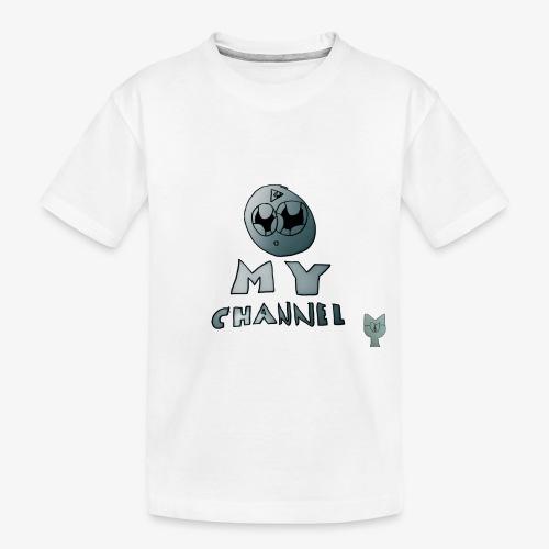 My Channel Cute - Toddler Premium Organic T-Shirt