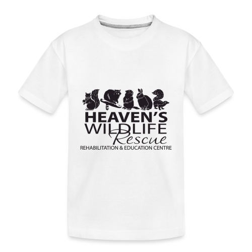 Heaven's Wildlife Rescue - Toddler Premium Organic T-Shirt