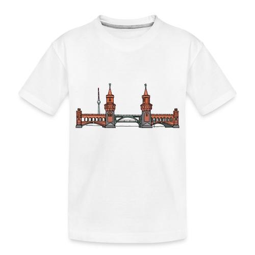 Oberbaum Bridge Berlin - Toddler Premium Organic T-Shirt