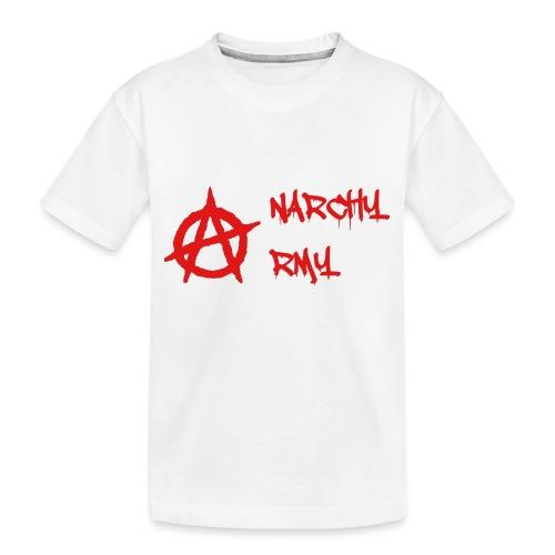 Anarchy Army LOGO - Toddler Premium Organic T-Shirt