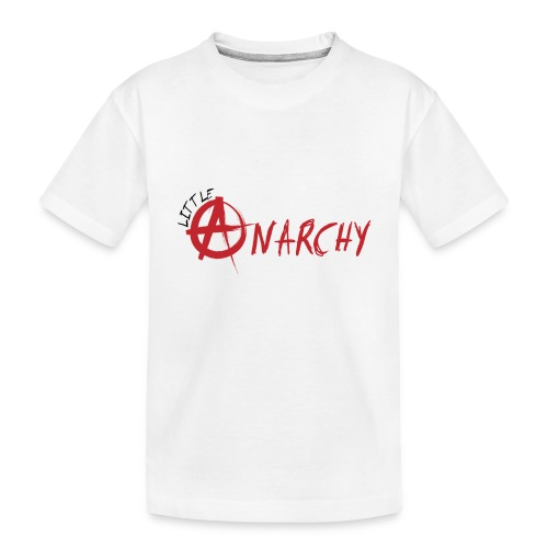 Little Anarchy Logo - Toddler Premium Organic T-Shirt