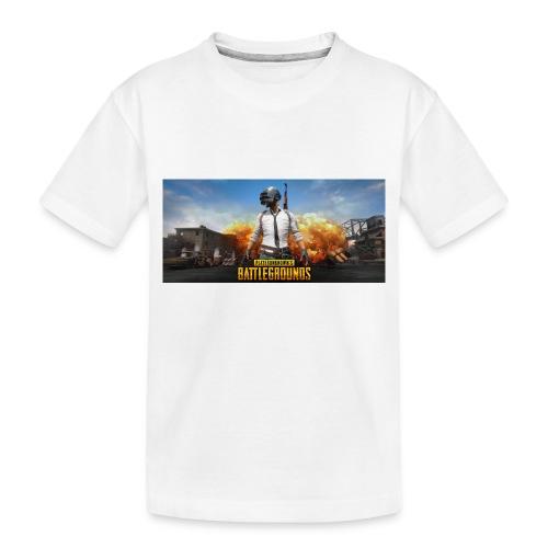 pubg 1 - Toddler Premium Organic T-Shirt