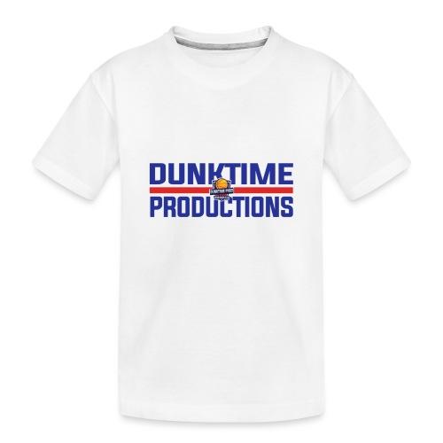 DUNKTIME Retro logo - Toddler Premium Organic T-Shirt
