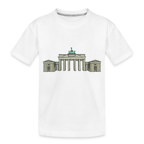 Brandenburg Gate Berlin - Toddler Premium Organic T-Shirt