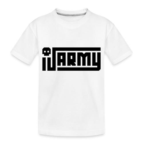 iJustine - iJ Army Logo - Toddler Premium Organic T-Shirt