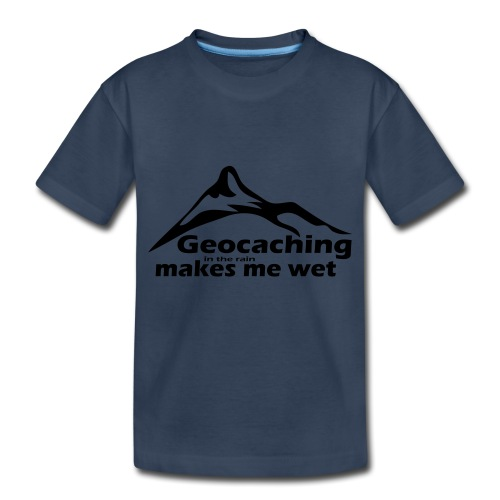 Wet Geocaching - Toddler Premium Organic T-Shirt