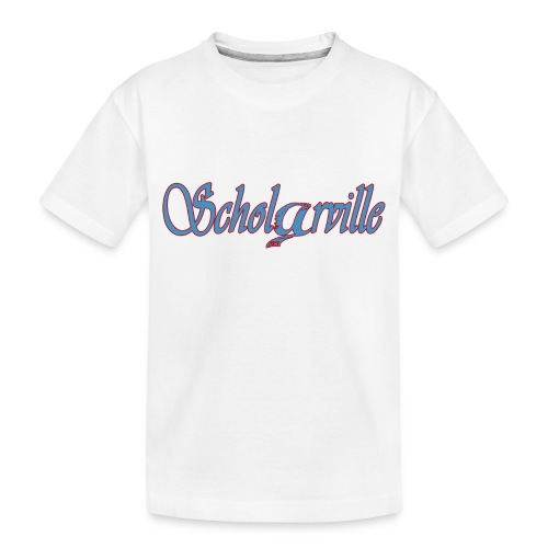Welcome To Scholarville - Toddler Premium Organic T-Shirt